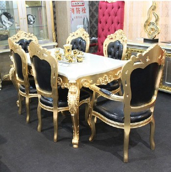 Luxury Home Dining Table Set Modern And Chair B51054