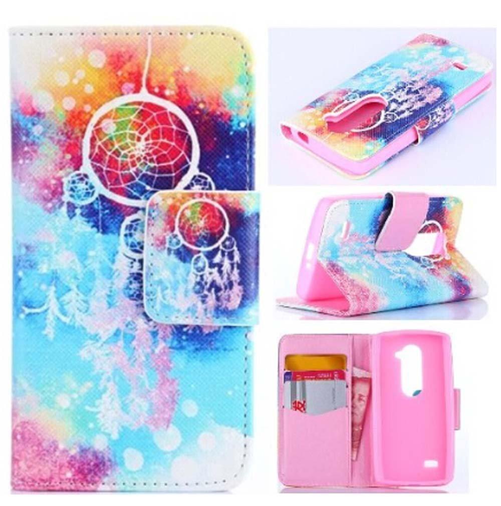 new products 6e2e3 39529 Buy LG Leon Case, lg leon leather case, Flip PU Leather Fold Wallet ...