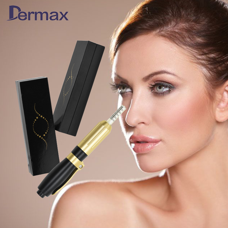Luxury 3&5 ml hyaluronic acid dermal filler serum needle-free injector pen фото