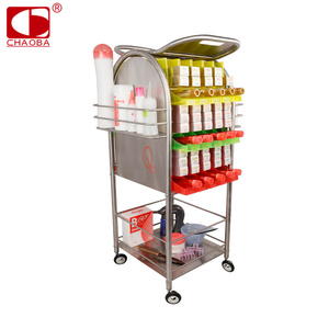 Wholesale customized salon cabinet equipment in furniture beauty trolley CB-8834
