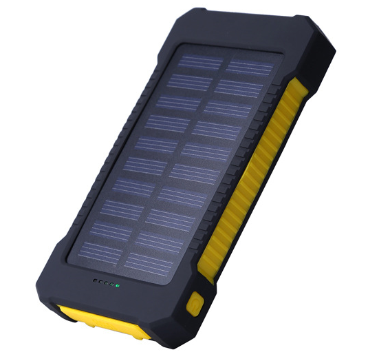 Outdoor Promotional Charger 10000Mah Solar Power Bank H