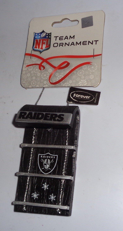 Buy Oakland Raiders Team 3D Logo Ornament NFL Football Fan Shop ...