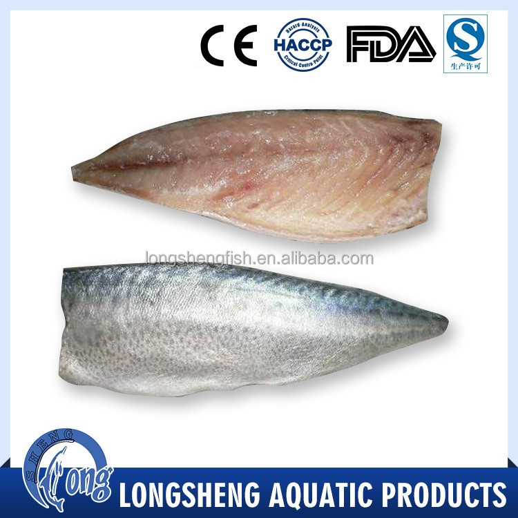 High quality mackerel frozen fillets