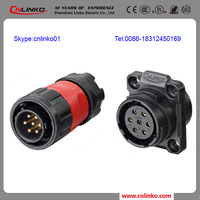 Made in china CNLINKO waterproof 12v wire connector terminal block Service connector female molded cable connector