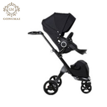 Foldable baby stroller double seat with cheap carbon fiber