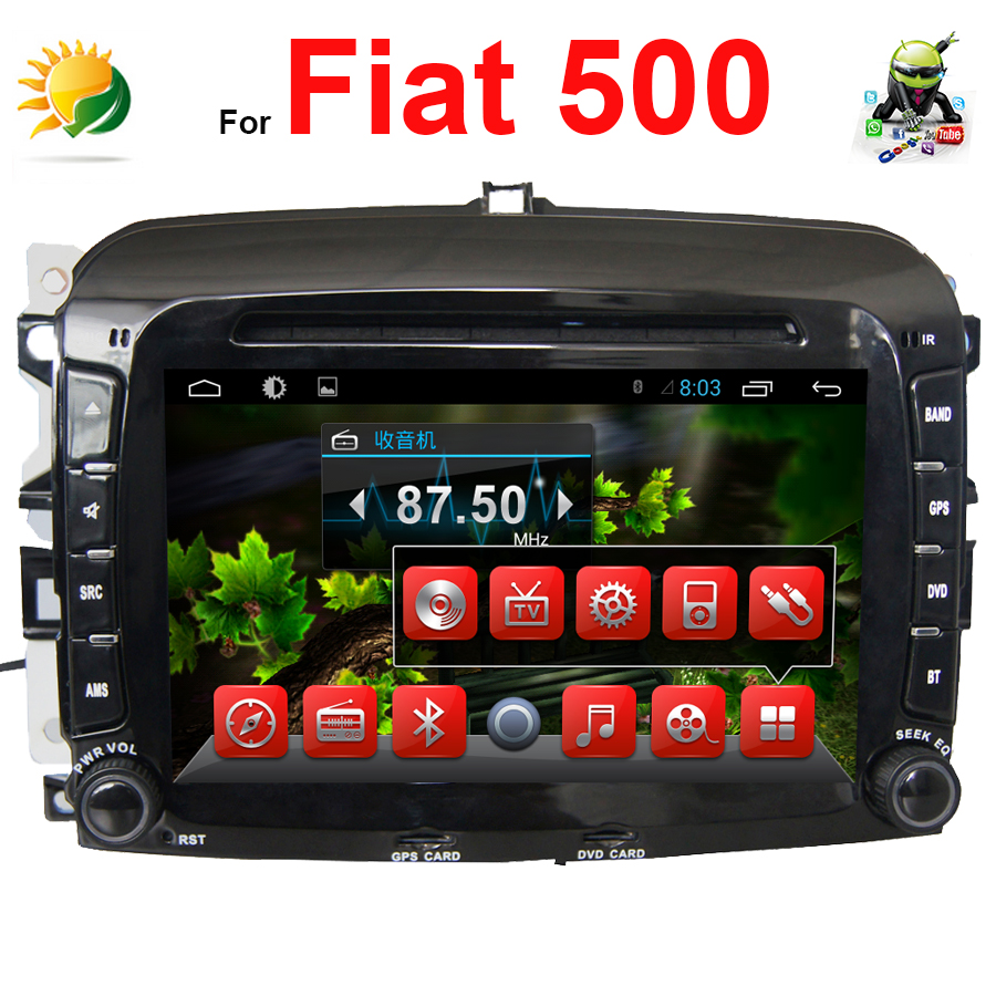 Fiat 500l 1 4 City Cross 5dr Hatchback: Gps Fiat 500. Autoradio Gps Fiat 500 Ecran Tactile Android