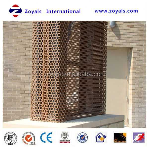 hot-selling low price oval aluminum perforated metal mesh / aluminum perforated metal sheet / punching net (ISO9001 factory)