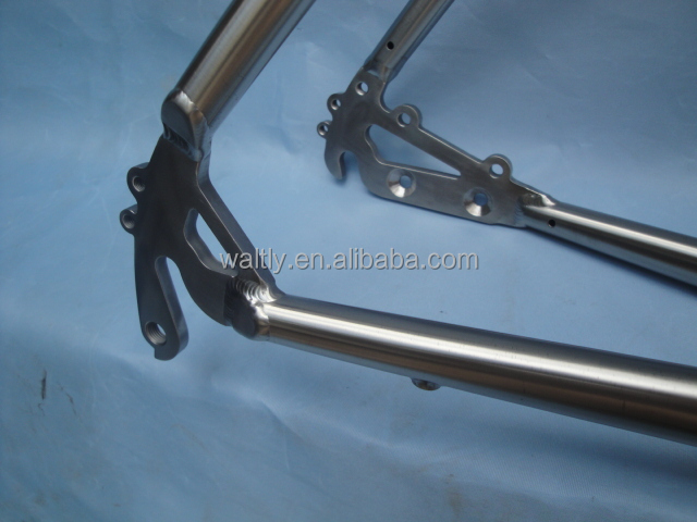 Super light CyclocrossTitanium bike frame