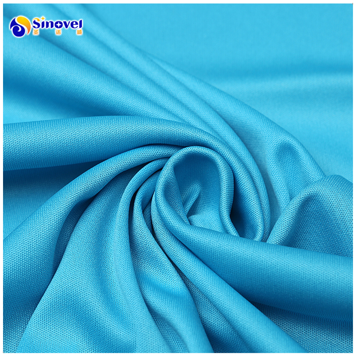 polyester interlock knitted fabric for garments