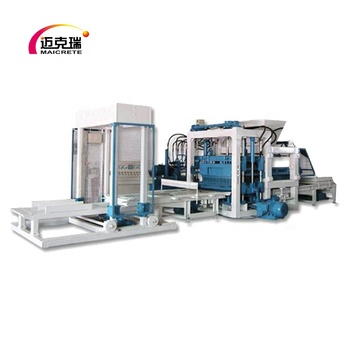automatic block making machine concrete