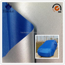 Cheap 210T Polyester Taffeta Sliver Coated Car Body Cover Fabric