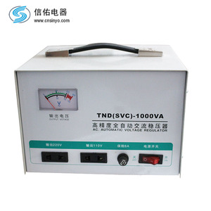 single phase 200V high accuracy voltage stabilizer