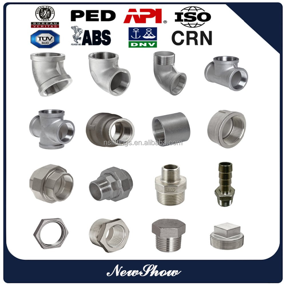 China supplier 150lbs stainless steel malleable cast iron pipe fittings