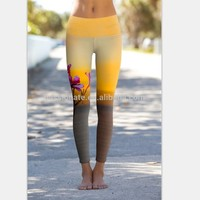 Custom Design Sublimation Printed Gym Fitness Legging
