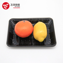wholesale PP and PET Plastic Fish Meat Disposable Frozen Food Tray