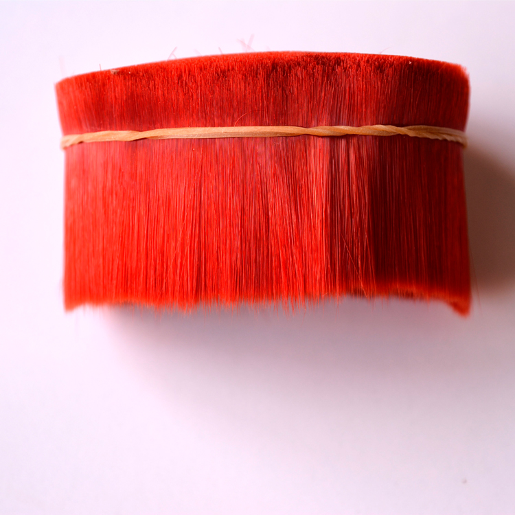 0.07-0.15mm High quality PET/PBT magic tapered filament for makeup brushes and eyelash