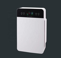 OEM/ODM LCD touch screen remote control home air purifier manufacturers pm2.5 hepa negative ion filter