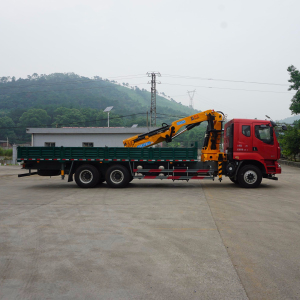 light truck crane for sale folding arm crane Telescopic Boom Mobile Truck Crane SQ320ZB6