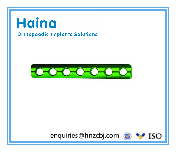 Quarter Tubular Plates 2.7 with Collar - Trauma Plates - Orthopedic Implants
