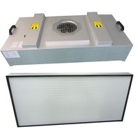 Clean room hepa air filter and fans for manufacturing FFU