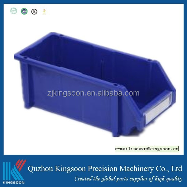 stackable storage bin plastic part bins