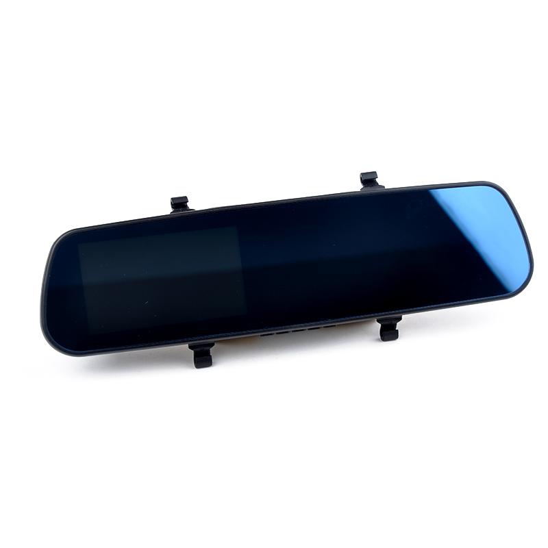 4.3 дюймов горячая распродажа оптовая продажа двойной объектив камеры зеркало заднего вида аксессуары вождения записи 2015 blackview тире камерой