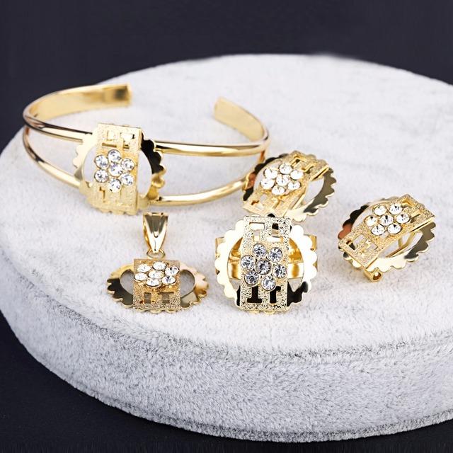 China Indian Gold Jewelry Sets Wholesale Alibaba