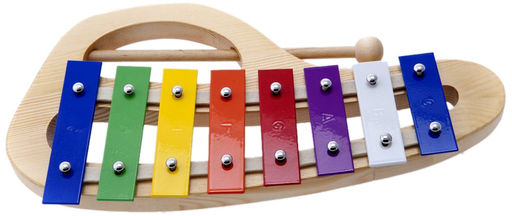 CTL8 8 Colored Notes Children Xylophone