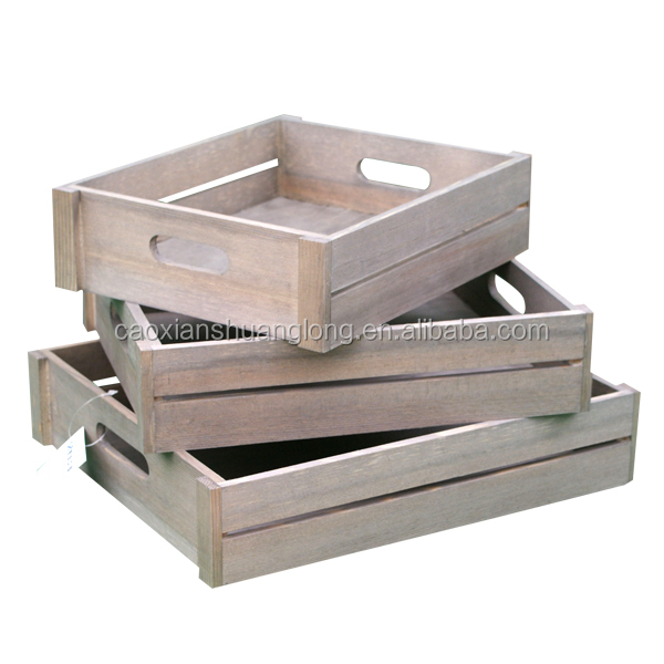 Wooden Apple Crates Wholesale, Wooden Apple Crates Wholesale Suppliers And  Manufacturers At Alibaba.com