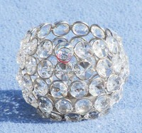 Crystal Ball Decorative Candle Stand