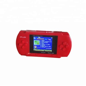 Hot 8 Bit 2.5 inch PVP Station Light Pocket Handheld Game Console With Mini Cartridge