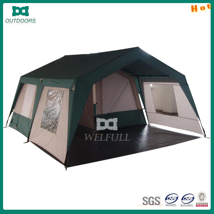 large waterproof camping roof tent for 6 person family