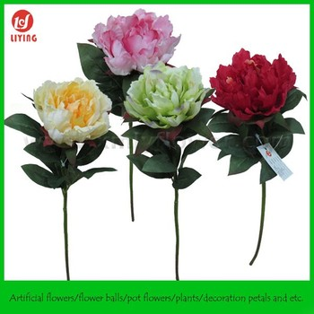 19 high quality silk flowersbulk silk flowerscoral peony flower 19quot high quality silk flowersbulk silk flowerscoral peony flower mightylinksfo