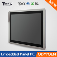 New 15inch Embedded Industrial Panel Computer Projected Capacitive Touch Screen IP65 3mm Super Thin Bezel Front Panel