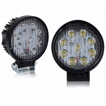 "4 ""d'inondation 27 W 9 LED Rond LED LUMIÈRE DE TRAVAIL BARRE OFFROAD <span class=keywords><strong>SUV</strong></span> 4WD CONDUITE LAMPE 12 V 24 V"