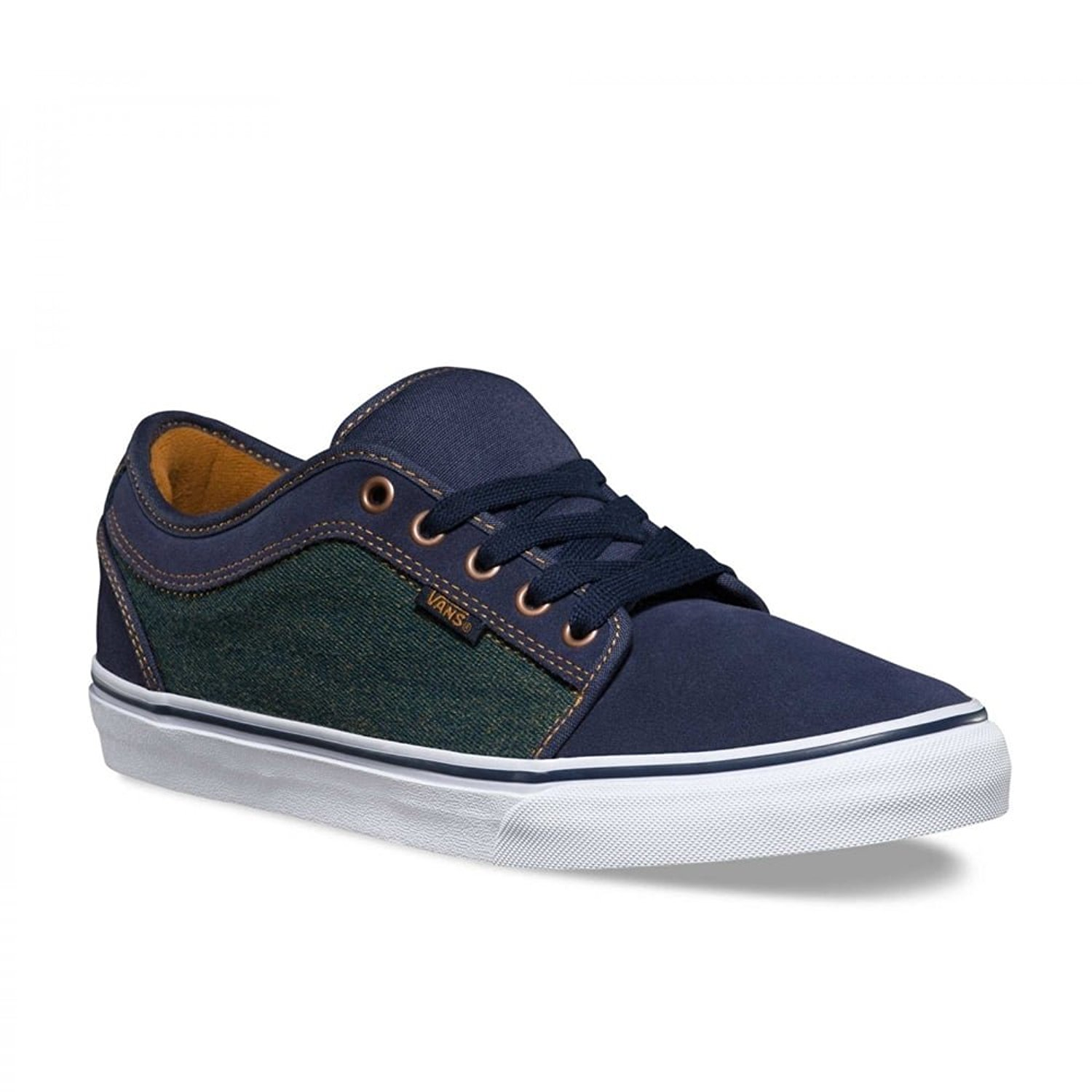 e90e820ddd7dc2 Get Quotations · VANS CHUKKA LOW DENIM NAVY BRONZ Y1
