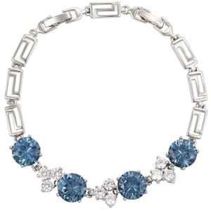df8e63174015c 74220 fashion jewelry latest ladies charm bracelets, white gold new models  crystal bracelet, bracelet for women