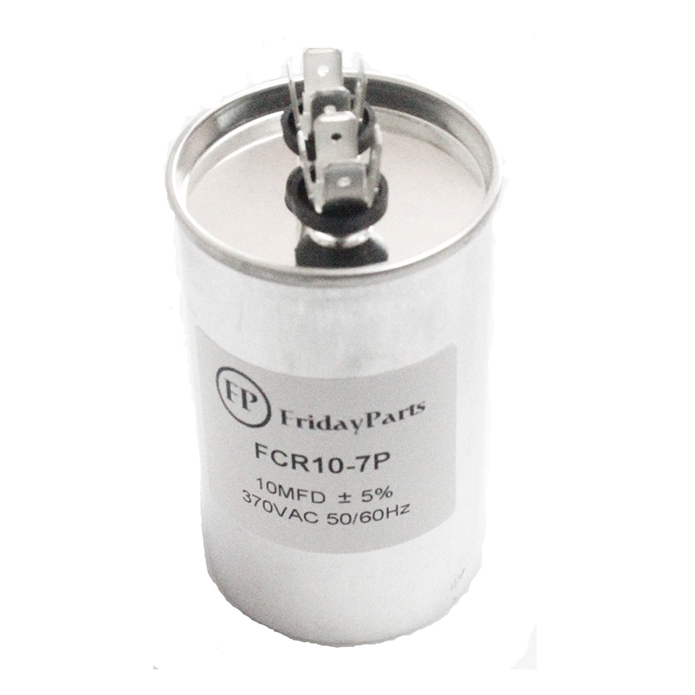 Buy Friday Parts Run Capacitor 10 MFD 370 V Round 2