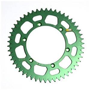 ProTaper 033181 Race Spec Aluminum Rear Sprocket - Green - 51T, Sprocket Position: Rear, Sprocket Teeth: 51, Color: Green, Material: Aluminum, Sprocket Size: 420