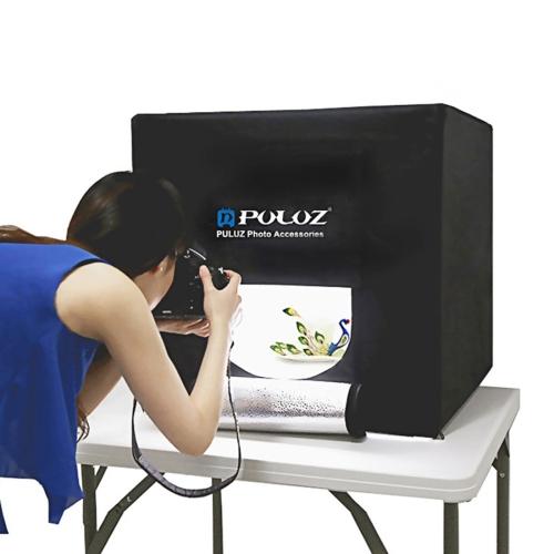Puluz 40 LED Folding Portable Photo Lighting Studio Shooting Tent Box Kit \#