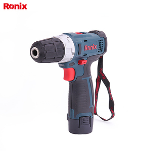 Ronix Cordless Power Tools Driver Drill Cordless 12V Li-ion Battery Drill 8612C