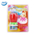Rotate style flower shape musical birthday candles CE/BSCI certifications