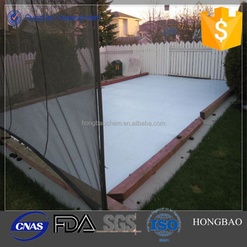 Plastic Skateboard Synthetic Ice Rink Inflatable Backyard Ice Rink