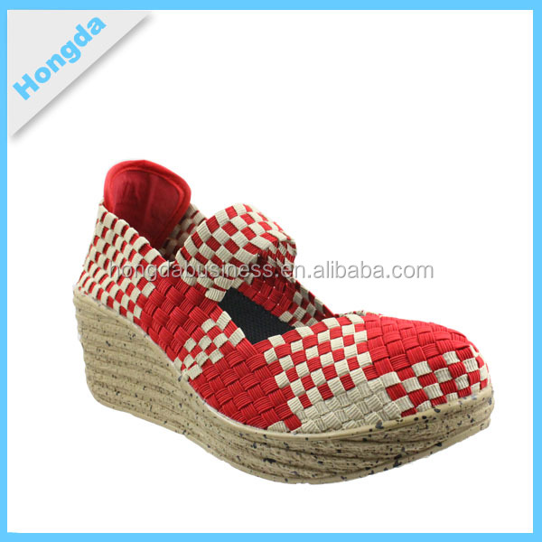 Woven Stretch Shoes