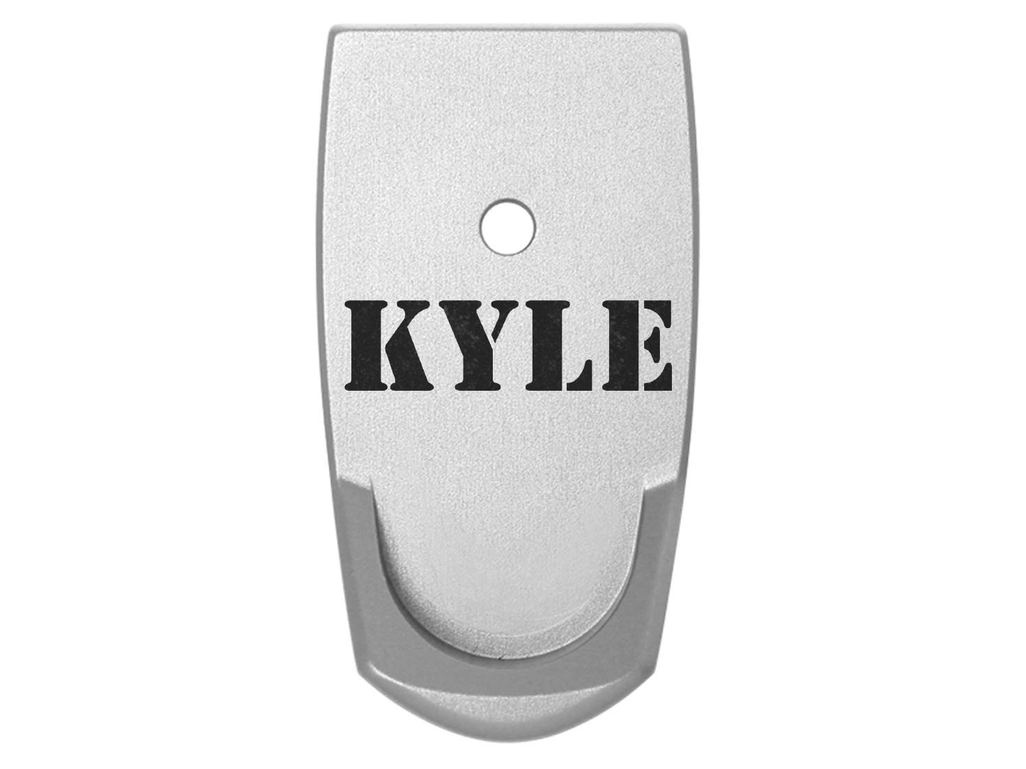 Name Kyle Grip Extension Floor Base Plate V2 Silver Silver for S&W Smith & Wesson Shield 9mm .40