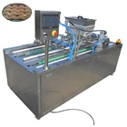 automatic puff pastry making cream filling machine Shanghai machinery