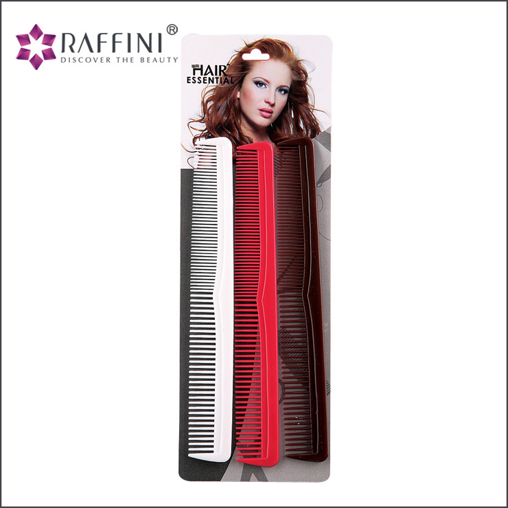 Hair and Salon Equipment stylish unique feel comb set for long hair