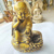 2019 OEM Brass Monk statues meditating Buddha sculpture for house decoration