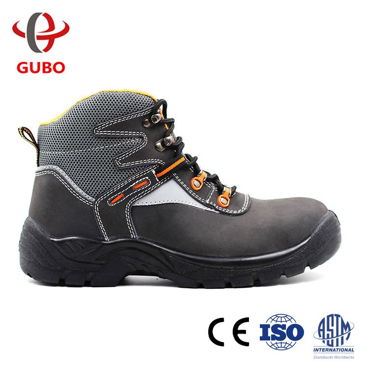 2017 new good quality dark blue bench grinder industrial safety shoes foot protection