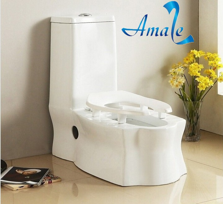 Modern Dual Use Toilet with Squatting Pan WC Ceramic Sanitary ware for Double Use